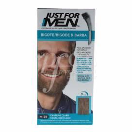 JUST FOR MEN SCHNURRBART UND BART HELLBRAUN