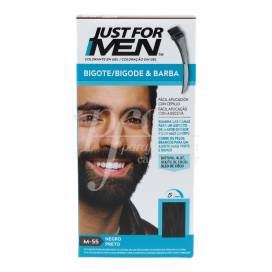 JUST FOR MEN BARBA BIGOTE PRETO