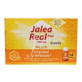 JUANOLA JALEA REAL PLUS 14 AMPOLAS BEBIBLES