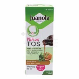 JUANOLA TOSSE XAROPE CRIANÇA150ML