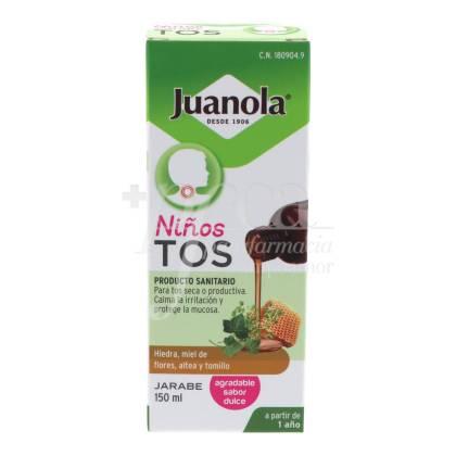 JUANOLA TOS NIÑOS JARABE 150 ML
