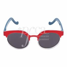 CHICCO RED AND BLUE SUNGLASSES +4 YEARS