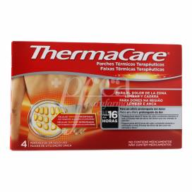 THERMACARE LOMBAR 4 UNIDADES