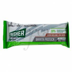 FINISHER CHOCOLATE AND HAZELNUT WITH L-CARNITINE PROTEIN BARS 20 UNITS