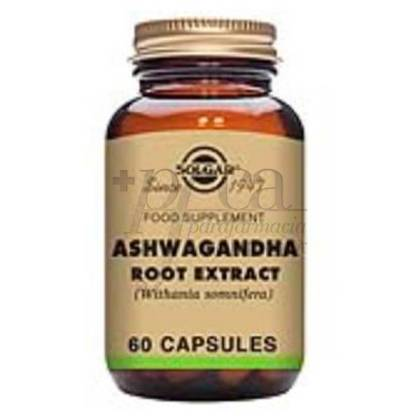 ASHWAGANDA(WITHANIA SOMNIFEA) 60 CAPS SOLGAR