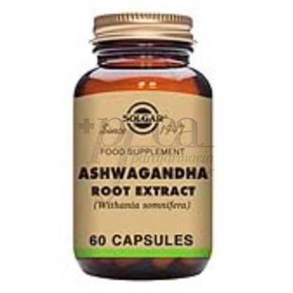 ASHWAGANDA(WITHANIA SOMNIFEA) 60 CAPSULES SOLGAR