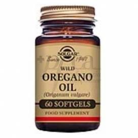 WILD OREGANO OIL 60 CAPSULES SOLGAR
