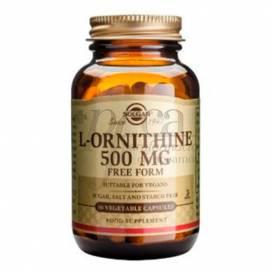 L-ORNITHIN 50 KAPSELN 500 MG SOLGAR