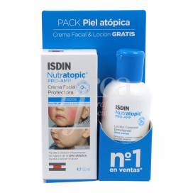 NUTRATOPIC PRO-AMP FACIAL 50 ML + LOCION 100 ML PROMO