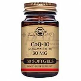 COENZYME Q10 30 CAPSULES 30 MG SOLGAR