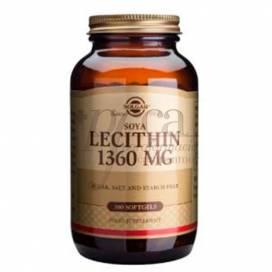 LECITHIN 100 PERLEN 1360 MG SOLGAR