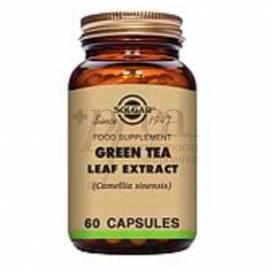 GREEN TEA LEAF 60 CAPSULES SOLGAR