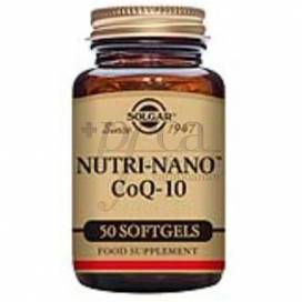 NUTRI-NANO Q10 3.1 X 50 CÁPSULAS SOLGAR