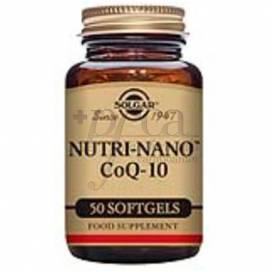 NUTRI-NANO Q10 3.1 X 50 CAPSULES SOLGAR
