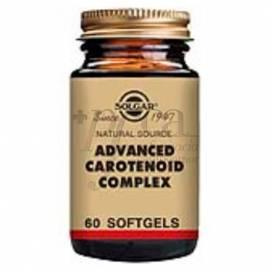 CAROTENOIDES COMPLEX AVANZADO 60 CAPS SOLGAR