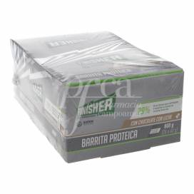 FINISHER BARRITAS PROTEICAS CHOCOLATE CON LECHE 20 UDS