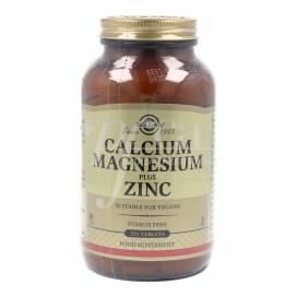 CALCIUM MAGNESIUM ZINC 250 TABLETS SOLGAR