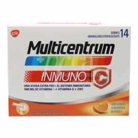MULTICENTRUM INMUNO-C 14 SAQUETAS 7,1 G