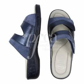 SCHOLL MARINELLA SANDAL BLUE SIZE 38