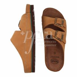 SCHOLL AIR BAG LEATHER SANDAL SIZE 39