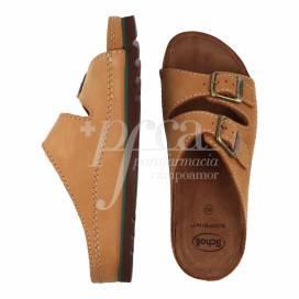 SCHOLL AIR BAG LEATHER SANDAL SIZE 40