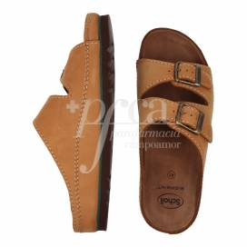 SCHOLL AIR BAG LEATHER SANDAL SIZE 41
