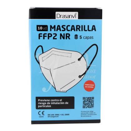 MASK FFP2 NR 10 UNITS DRASANVI