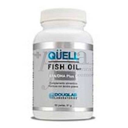 QUELL FISH OIL EPA DHA + D3 60 PEARLS DOUGLAS