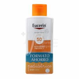 EUCERIN SUN PROTECTION SPF50+ SENSITIVE PROTECT LOÇÃO CRIANÇAS 400ML