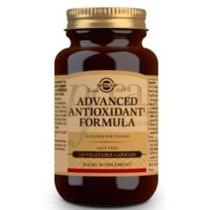 SOLGAR ANTIOXIDANT ADVANCED FORMULA 120 CAPSULES