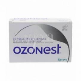 OZONOEST 20 TOALHETES OFTÁLMICOS