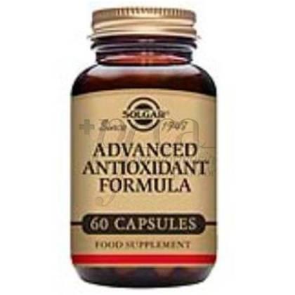 FORMULA ANTIOXIDANTE ADVANCED 60 CAPSULES SOLGAR
