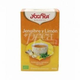 YOGI TEA GINGER AND LEMON 17 TEA BAGS