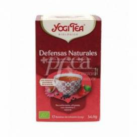 YOGI TEA NATURAL DEFENSES 17 TEA BAGS
