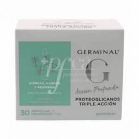 GERMINAL ACÇÃO PROFUNDA PROTEOGLICANOS TRIPLA ACÇÃO 30 AMPOLAS