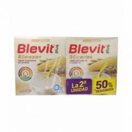 BLEVIT PLUS 8 CEREAIS 2X600 G PROMO