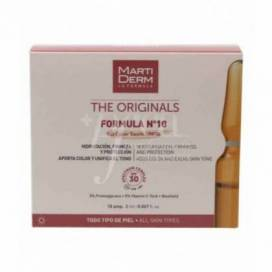 MARTIDERM FORMULA Nº 10 COLOR TOUCH SPF 30 10 AMPOLAS 2 ML