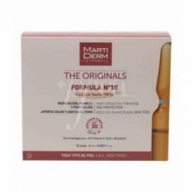 MARTIDERM FORMULA Nº 10 COLOUR TOUCH SPF 30 10 AMPULLEN 2 ML