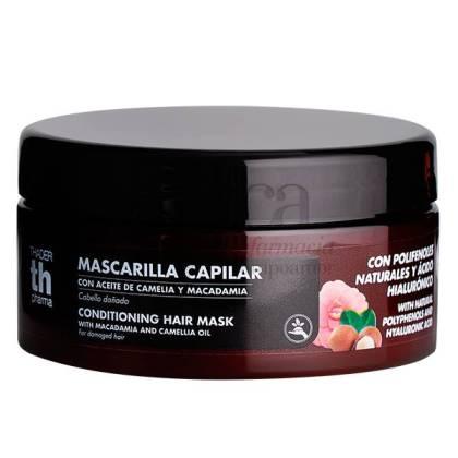 TH HAIR MASK POLYPHENOLS + HYALURONIC ACID CAMELLIA AND MACADAMIA 300 ML