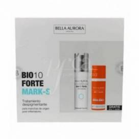 BELLA AURORA BIO10 FORTE MARK-S 30 ML + CREME SOLAR 50 ML PROMO