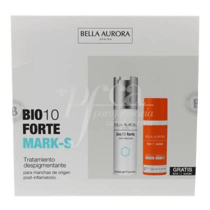 BELLA AURORA BIO10 FORTE MARK-S 30 ML + SUNSCREEN 50 ML PROMO