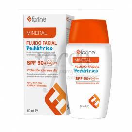 FARLINE FLUIDO ROSTO MINERAL PARA MENINOS SPF50+ 50 ML
