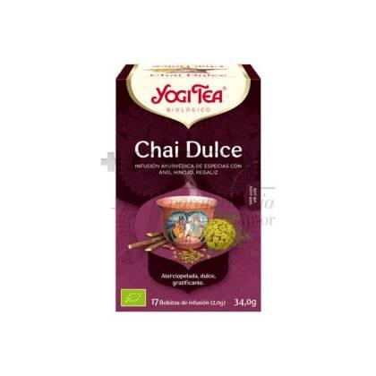 YOGI TEA SWEET CHAI 17 TEA BAGS
