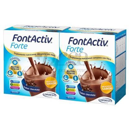 FONTACTIV FORTE CHOCOLATE 2X420G PROMO