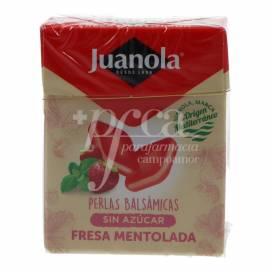 JUANOLA PÉROLAS 25 G MORANGO MENTOLADA