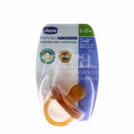 CHICCO RUBBER PACIFIER 6-12M