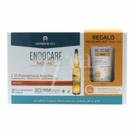 ENDOCARE RADIANCE C 20 PROTEOGLICANOS 30 AMPOLLAS + REGALO PROMO