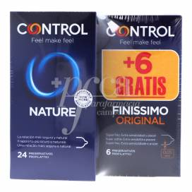 CONTROL ADAPTA NATURE 24 EINHEITEN + FINISSIMO 6 EINHEITEN PROMO