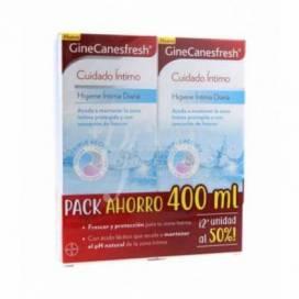 GINECANESFRESH HIGIENE INTIMA 2X200 ML PROMO