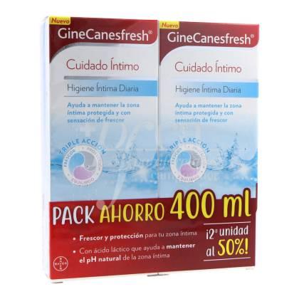 GINECANESFRESH INTIMATE HYGIENE 2X200 ML PROMO